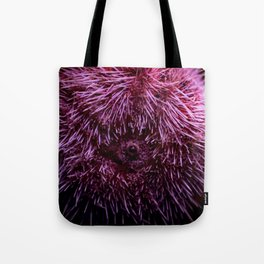 Pink Sea Urchin Tote Bag