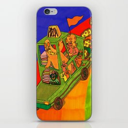 Pizza Delivery iPhone Skin