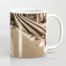 Pittsburgh Pennsylvania Steel City Bridge Skyline Print Coffee Mug