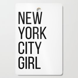 New York city girl Cutting Board