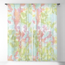Intuition Wild & Free Sheer Curtain