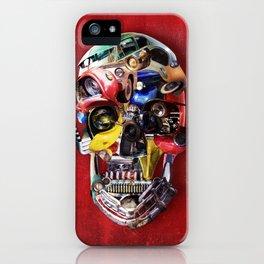 Hot Rod Skull iPhone Case