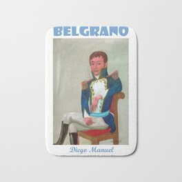 Belgrano de militar por Diego Manuel. Bath Mat