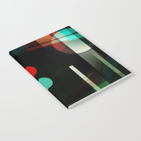 Multicolored abstract no. 62 Notebook