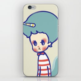 why are you angry? iPhone Skin