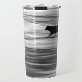 Ghost Cat Travel Mug