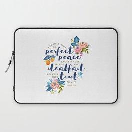 Perfect Peace Laptop Sleeve