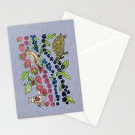 Summer Snack Time by Offhand Designs Stationery Cards