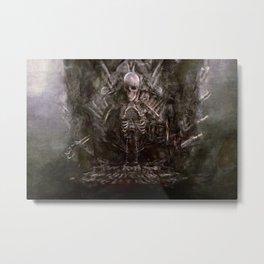 The Human Bone Organ Pipe - The Goonies Metal Print