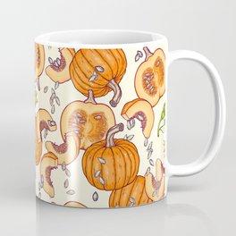 lucky autumn pumpkin pattern Coffee Mug