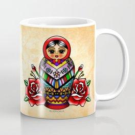 Vectorized Mexican Matryoshka 2 Coffee Mug