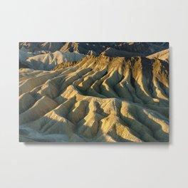 Death Valley - Zabriskie Point Metal Print