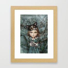 Cecile *Cattitude* Framed Art Print