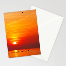 Ocean evening II Stationery Cards