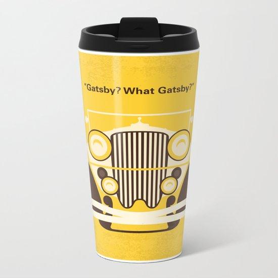 No206 My The Great Gatsby minimal movie poster Metal Travel Mug