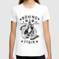 boxing T-shirts featuring Boxing by T-SIR | Oscar Postigo