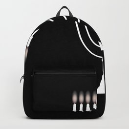 Menorh With Nine Candles Backpack