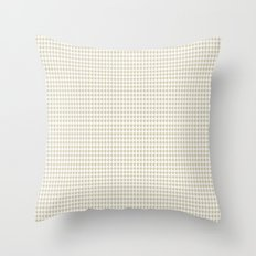 MODERN CROWN - cream color Throw Pillow