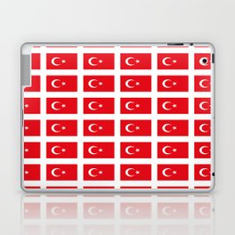 flag of turkey -turkey,Turkish,Türkiye,Turks,Kurds,ottoman,istanbul,constantinople. Laptop & iPad Skin