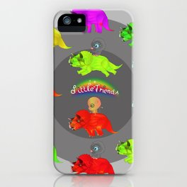 Little Friends JURASSIC iPhone Case