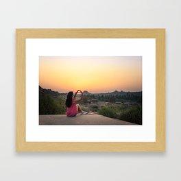 Incredible India: Hampi Framed Art Print