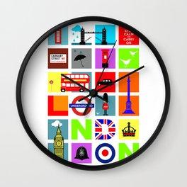 The City London Wall Clock