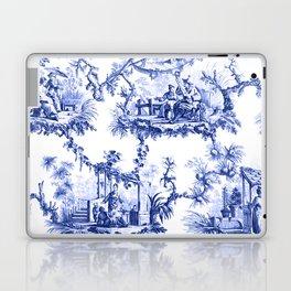 Blue Chinoiserie Toile Laptop & iPad Skin