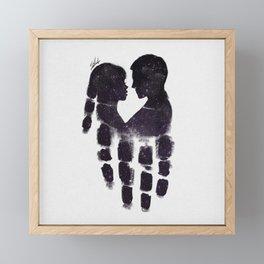 Peaceful love Framed Mini Art Print
