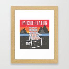 Park & Recreation Framed Art Print