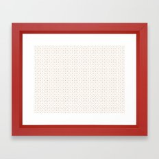 Peace&Love Framed Art Print