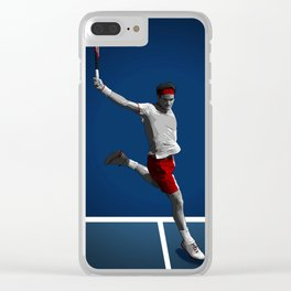 Roger Federer Clear iPhone Case