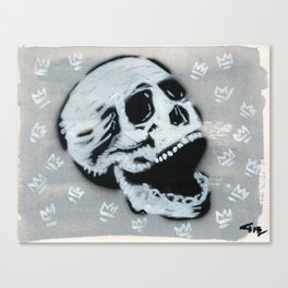Gunga Skull 03 Canvas Print