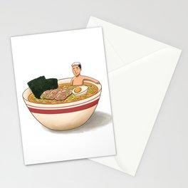 Ramen Bath Stationery Cards