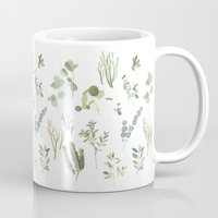plants Mugs featuring Plants  by Maggie Chiang