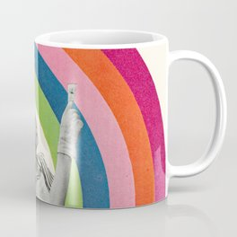 Paint a Rainbow Coffee Mug
