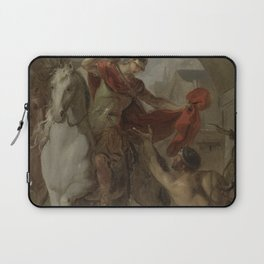 Louis Galloche - Saint Martin Sharing his Coat with a Beggar Laptop Sleeve