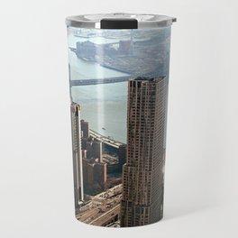 Vintage New City Travel Mug