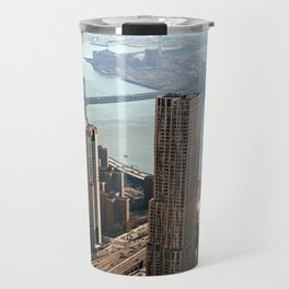Vintage New City Travel Mug