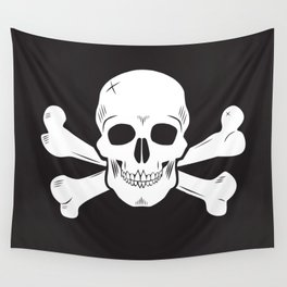 Crossbones Wall Tapestry