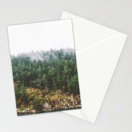 Foggy Vancouver Island Stationery Cards