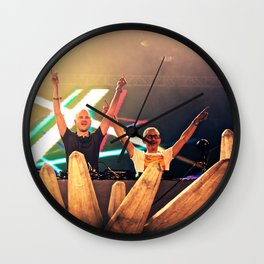 Above & Beyond Wall Clock