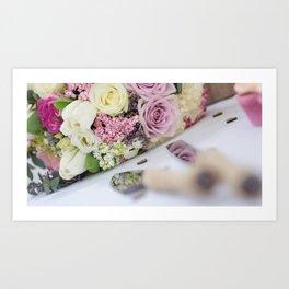 Reflections of a Bouquet Art Print