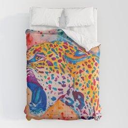 Colurful Jaguar! Comforters