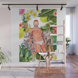 Beard Boy: Jungle Flavours Wall Mural