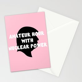 AM-A-T-EUUU-R! Stationery Cards