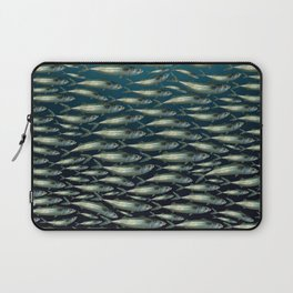 Mackerel At Sea Laptop Sleeve