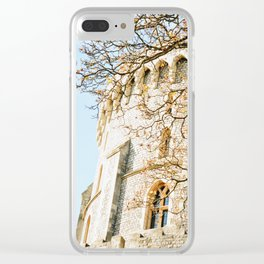 Windsor Castle in the Fall Clear iPhone Case