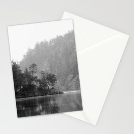 Historic Mattawa River in Black and White Stationery Cards