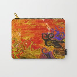 Orange Emotion Carry-All Pouch