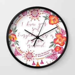 Just an Ornament Wall Clock